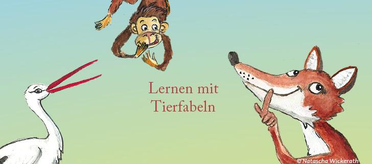 Fuchs, Löwe und Mensch – Lernen mit Tierfabeln