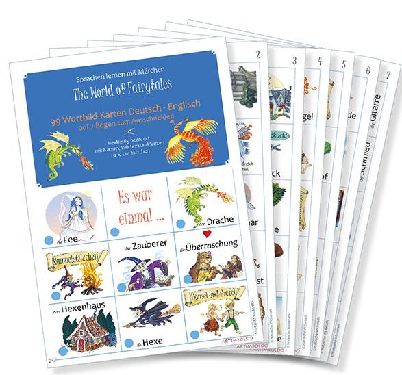Märchenkarten Deutsch - Englisch